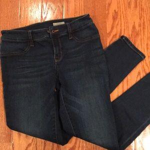 NWOT Ralph Lauren Girl's Jean leggings sz 14